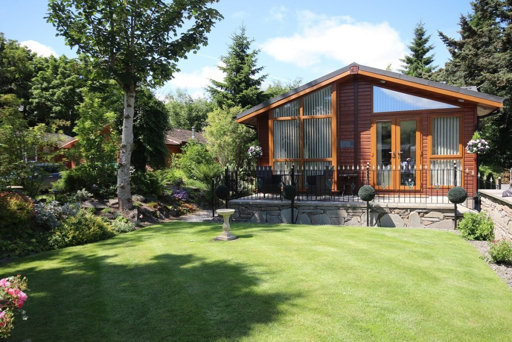 Nice Grand Eagles Luxury Lodge Park In Perthshire